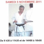Stage Karate avec Matre Nahkashi 9me Dan
