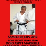 Stage Karate Do &#8211; Idetoshi Nakahashi 9me Dan expert federal